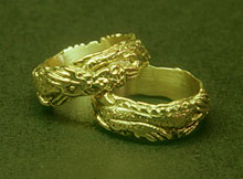 Chinese Dragon Rings