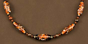 Thumbnail of Tiger Bead Necklace